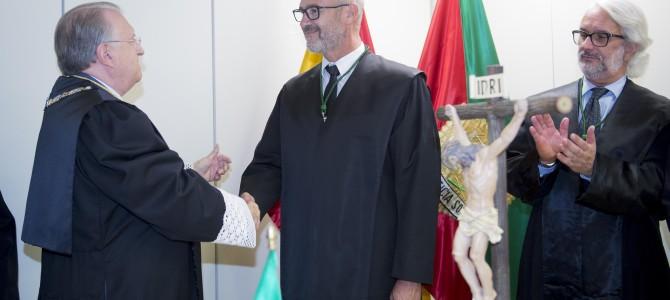 El nuevo delegado en Ceuta del Colegio de Graduados Sociales toma posesión del cargo