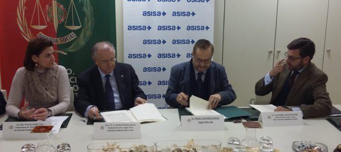 Convenio de colaboración de nuestro Colegio con ASISA
