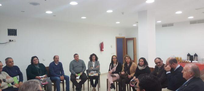 Reunión sectorial con los colegiados de la  comarca de La Janda