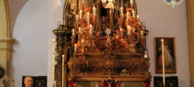 San José, Patrón de San Fernando, recibió el bastón de nuestro presidente