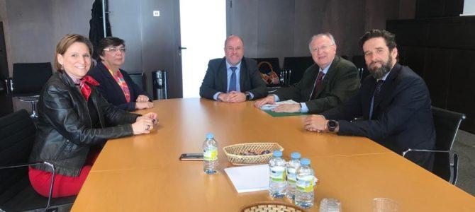 Encuentro de trabajo con la dirección provincial de la TGSS