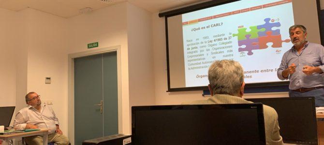 Destacada presencia de graduados sociales en el Curso Básico de Mediadores del SERCLA de Algeciras
