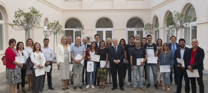 El Colegio de Graduados Sociales clausura su curso procesal en la Facultad de Ciencias del Trabajo