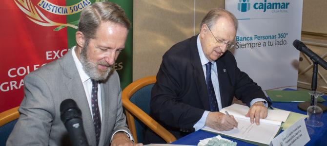 El Colegio de Graduados Sociales y Cajamar Caja Rural estrechan sus relaciones con la firma de un convenio de colaboración